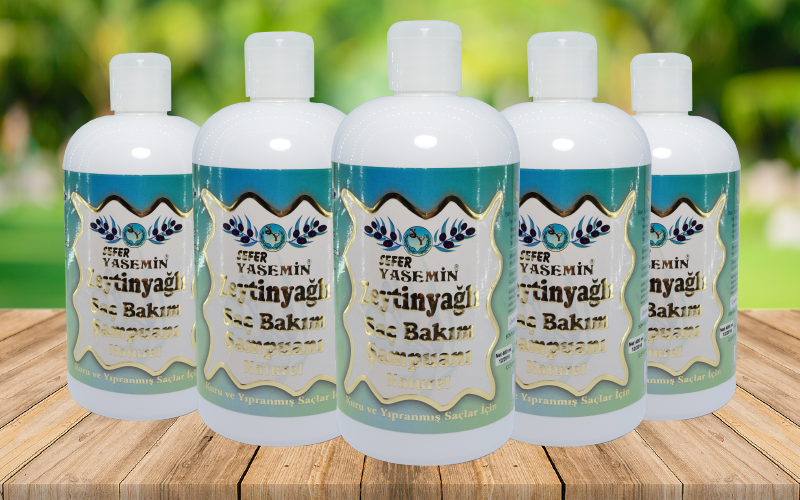 Zeytinyağlı Saç Bakım Şampuanı