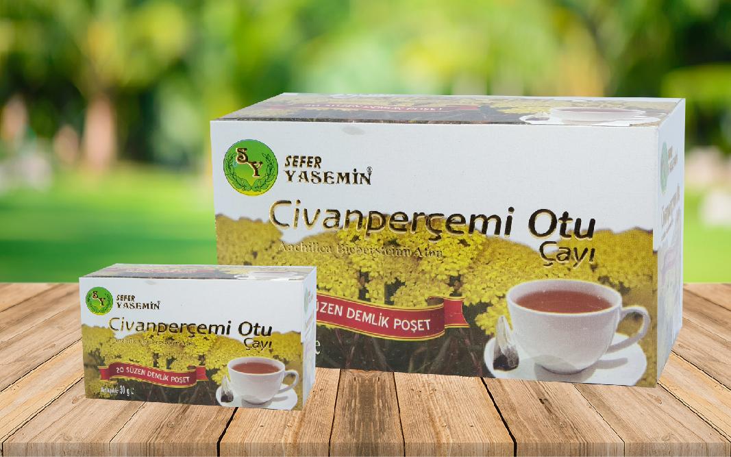 Civanperçemi Otu Çayı